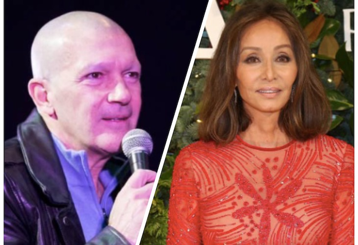 Isabel Preysler y Antonio Banderas unen sus caretos en un business