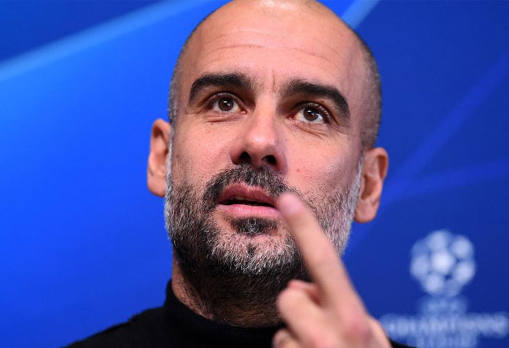 Guardiola riñe a los independentistas catalanes