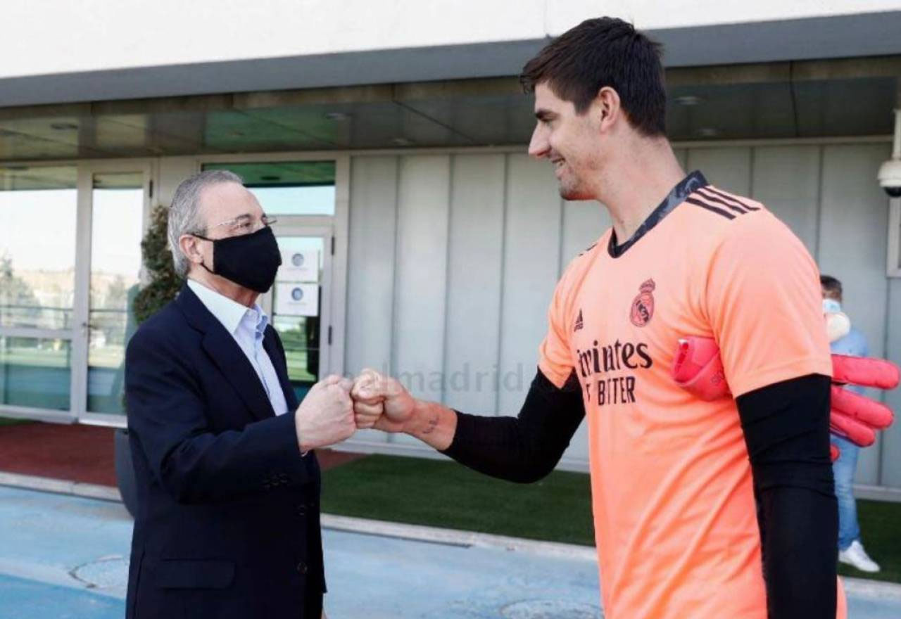 Guerra total con Thibaut Courtois: estalla a menos de 24 horas del City-Madrid