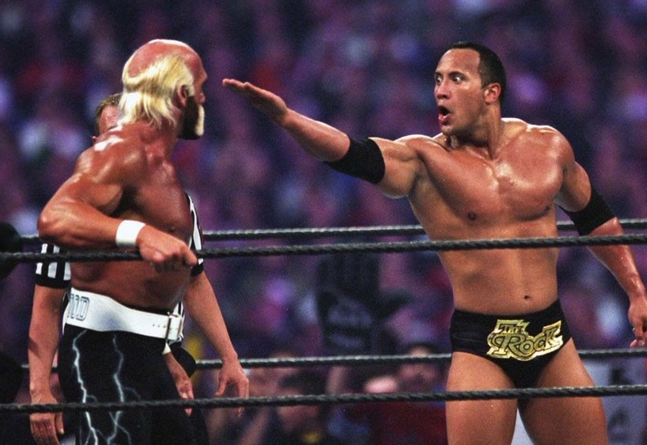 Los inicios de The Rock: Dwayne Johnson contra Hulk Hogan
